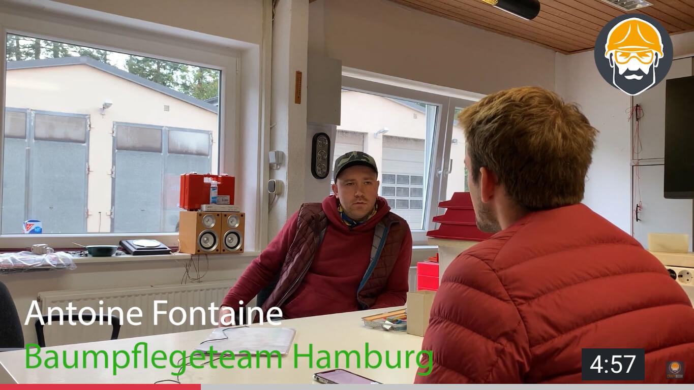 youtube video von baumpflegeteam hamburg