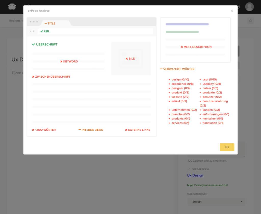 Gast Blogging Tools OnPage SEO Optimierungen