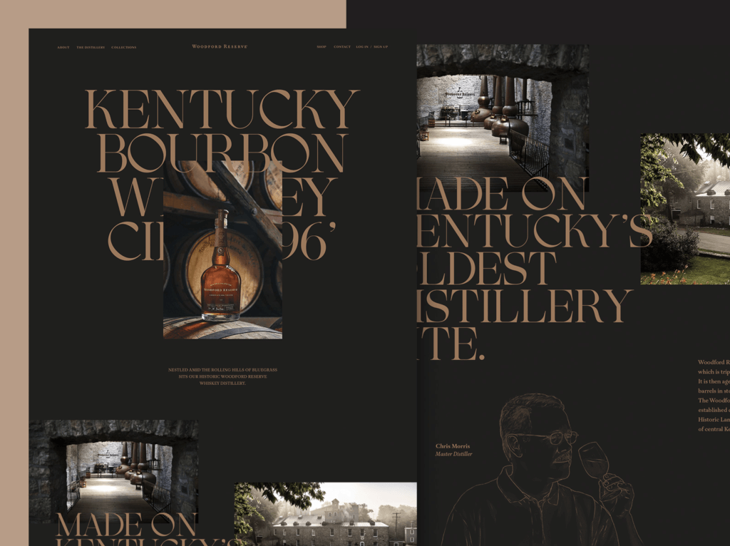 webdesign trends 2021 Typografisches Design