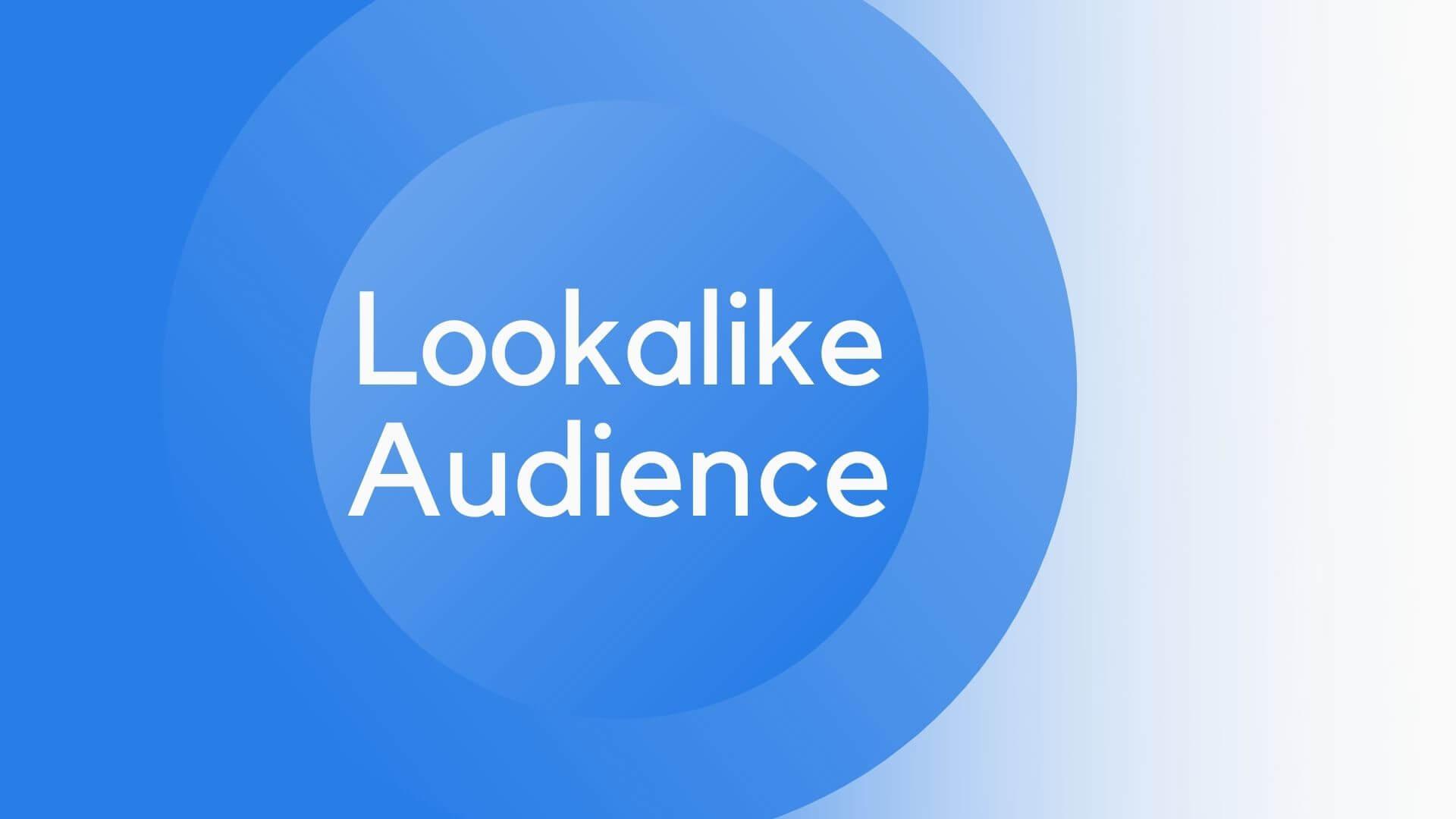 Lookalike Audience