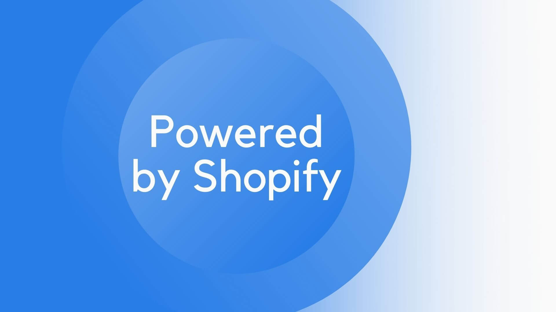 Powered by Shopify entfernen