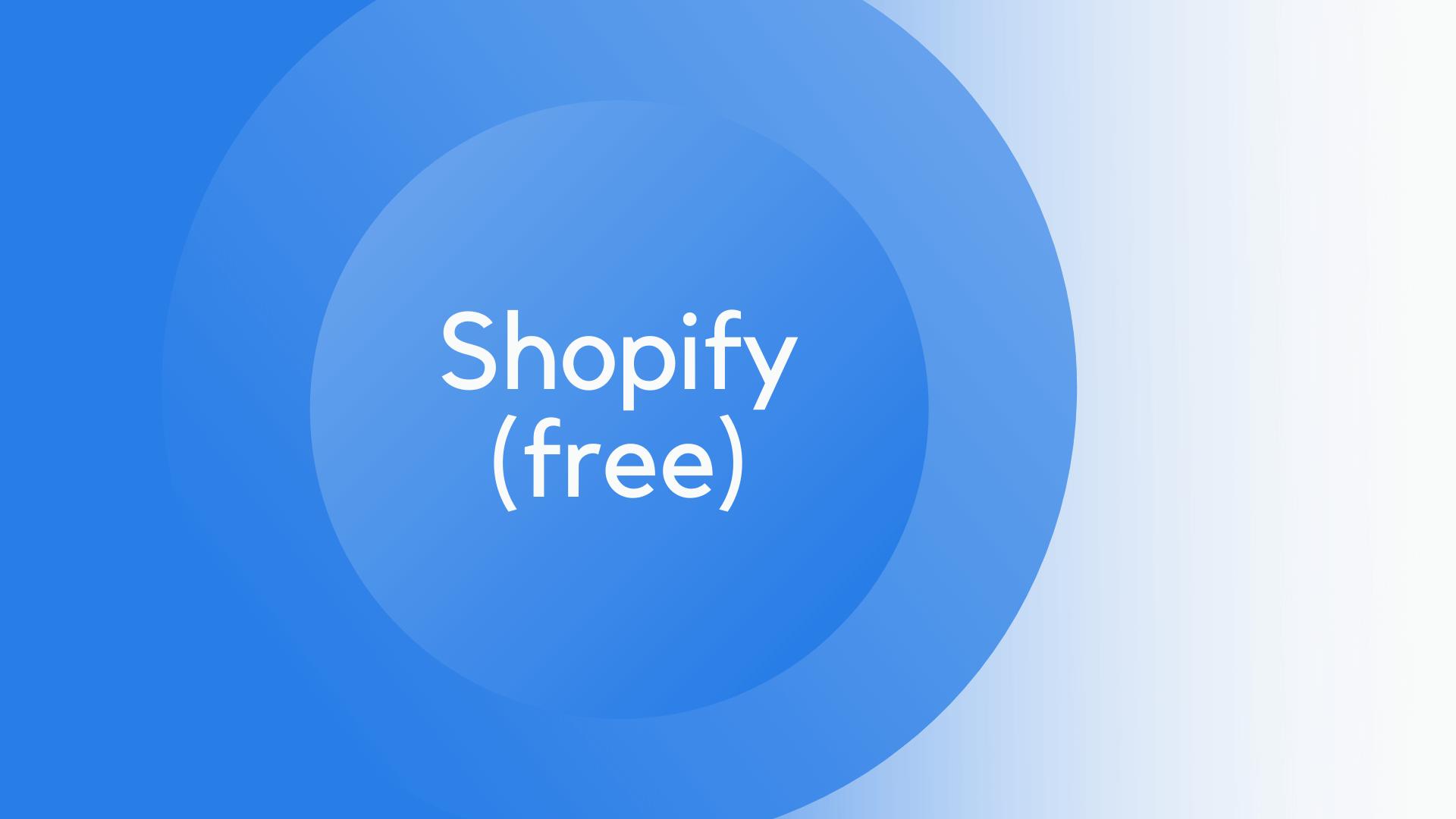 Shopify Kurs kostenlos