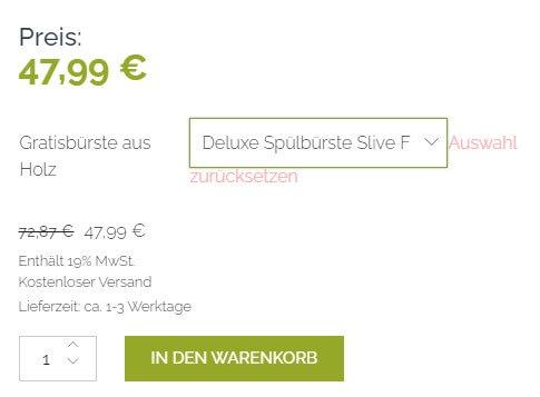Kaufen Button Shopify