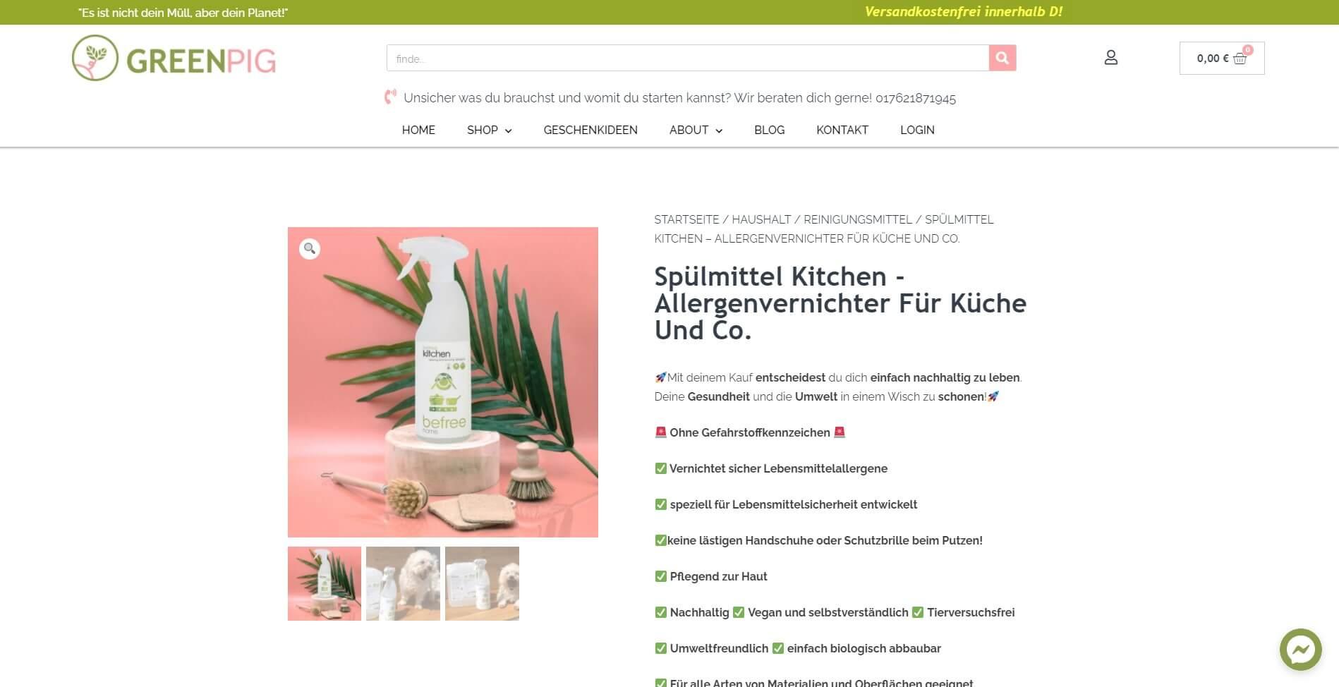 Produktseite optimieren Shopify