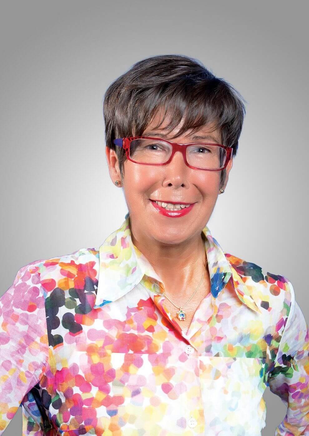 Cornelia Graf - Gesundheits- und Ernährungsberaterin.