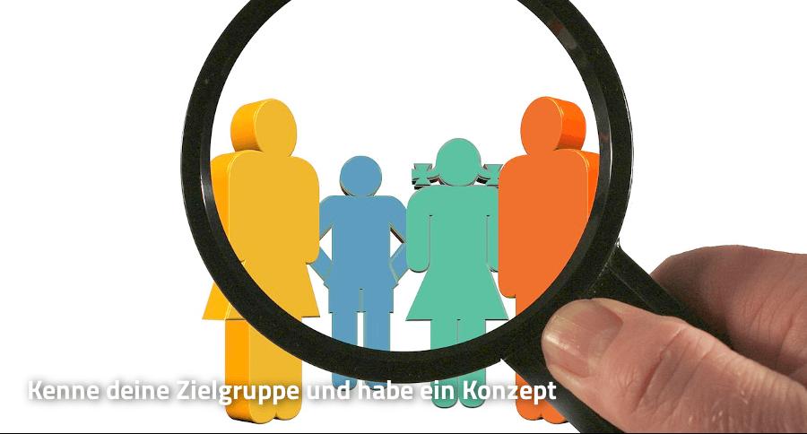 Zielgruppe Konzept