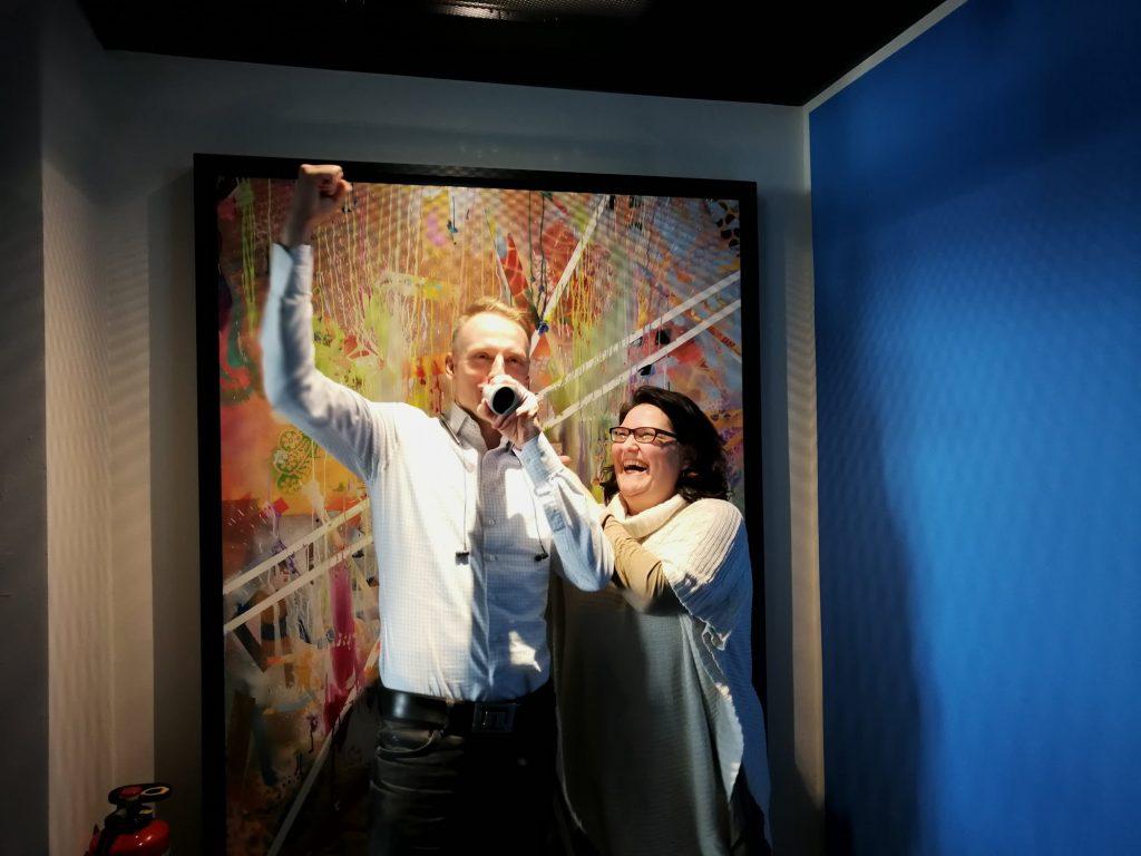 Marc Majewski und Yvette Tilly