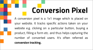 Conversion Pixel Definition