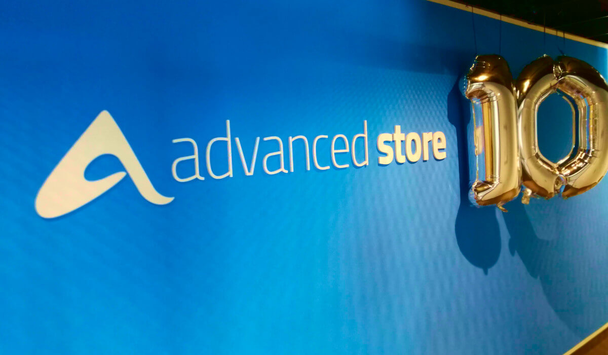 10 Jahre advanced store
