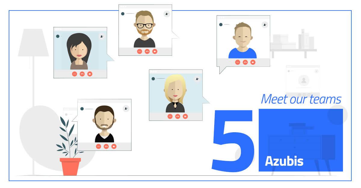 Was macht eigentlich... Team Azubis: Von Marketingkommunikation bis IT