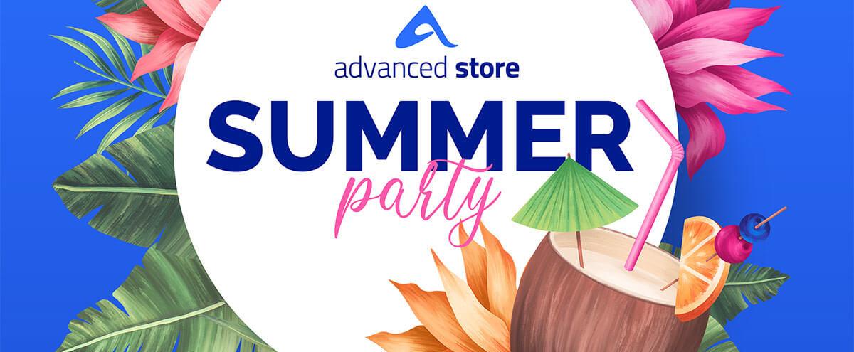Sommer, Strand & gute Laune: Das große advanced store Wiedersehen