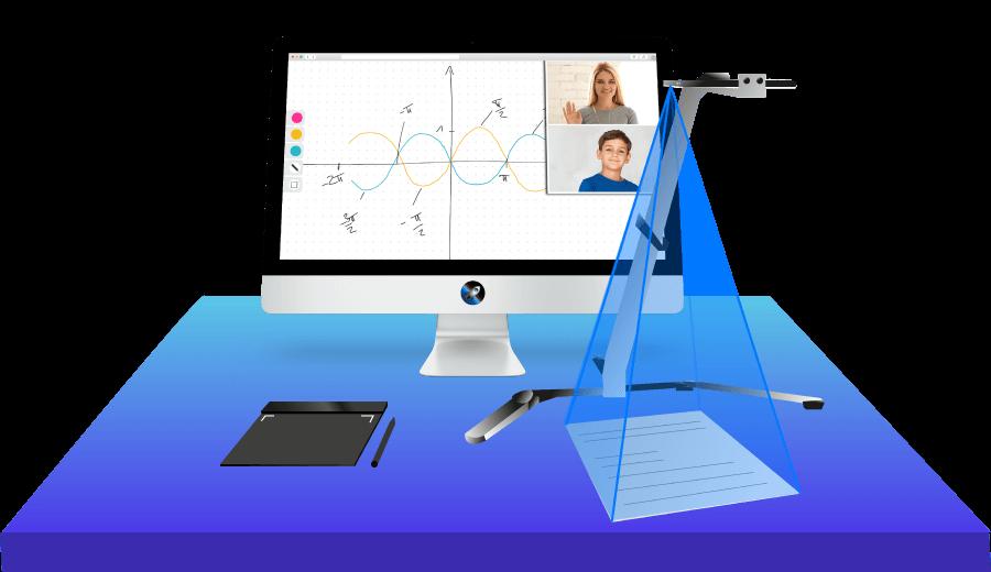 Online Nachhilfe Konzept   Concept