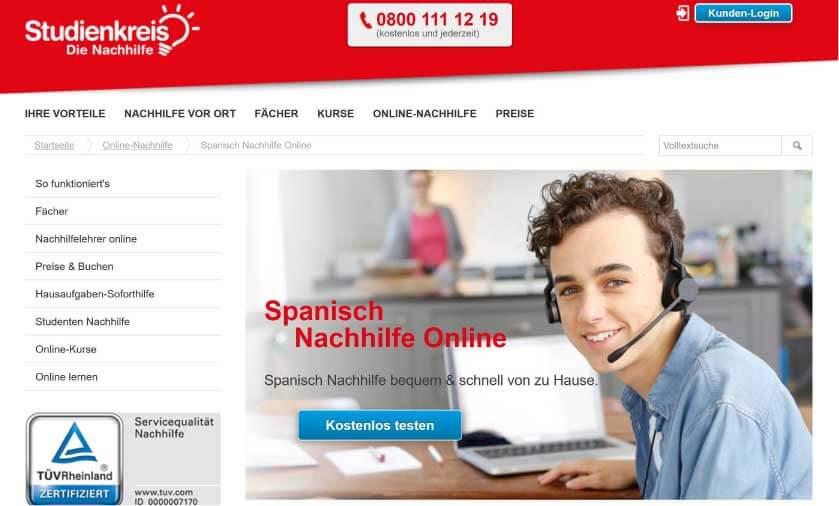 Spanisch Nachhilfe Studienkreis