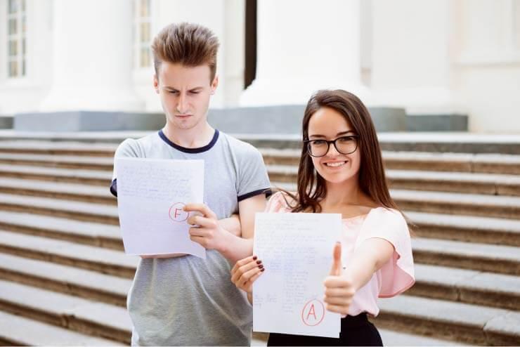 Gute Noten schreiben