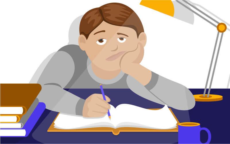 Motivationsmangel fuehrt zu schlechten Noten