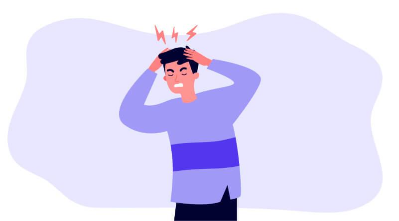 Zu viel Stress gibt schlechte Noten