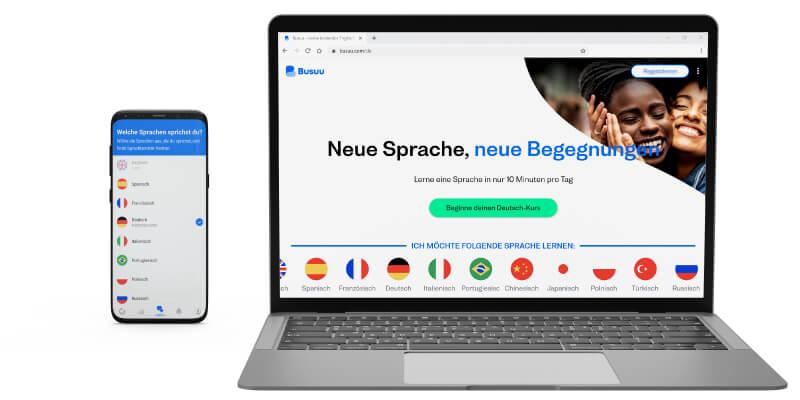 Busuu als Duolingo Plus Alternative