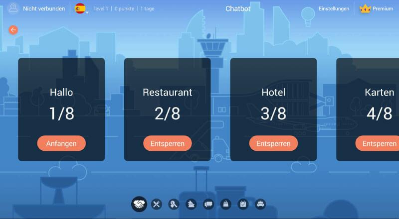 Mondly App Sprachen Lernen Online Aufgaben