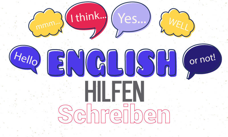 Englisch Hilfen fuer Texte schreiben