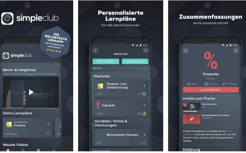 Simple Club als Anton App Alternative