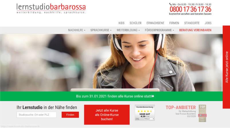 Barbarossa als Mathe Nachhilfe vor Ort