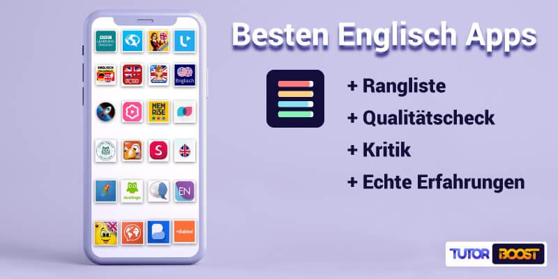 📱Die 24 besten Englisch Lernen Apps (2021): Was lohnt sich?