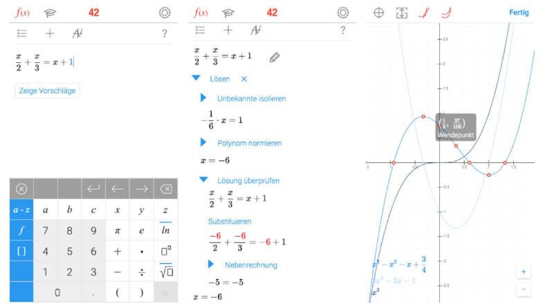 Math 42 als Photomath Alternative