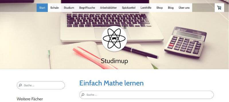 Studimup als Mathe Nachhilfe