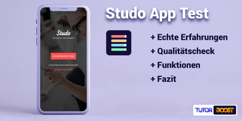 🎓Studo App Test (2021): So optimierst du dein Studium!