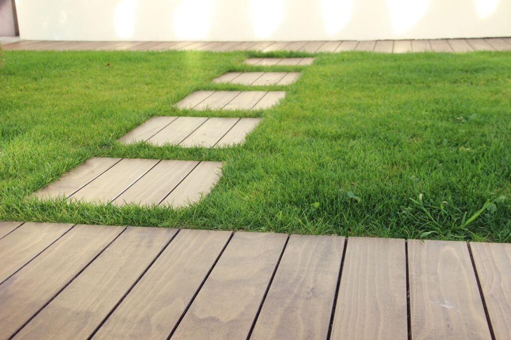 Accoya Holz Terrasse
