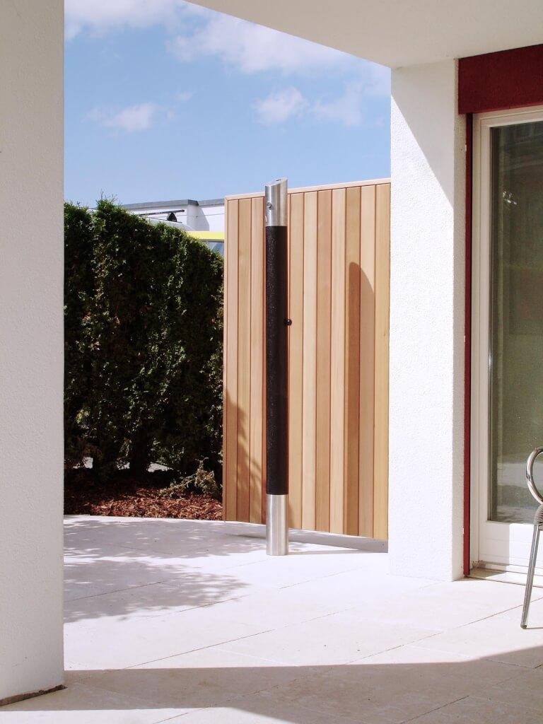Sichtschutz Wand aus Holz Schweiz 11