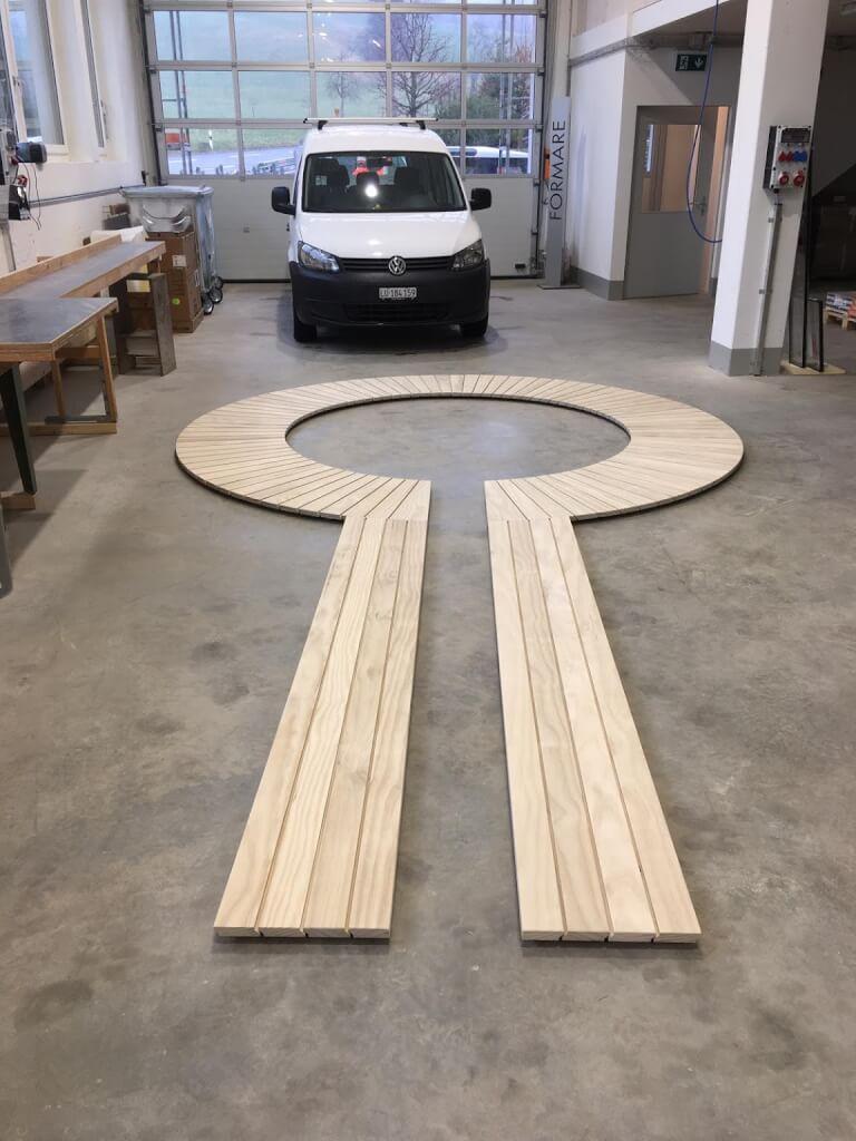 Holz Terrasse Accoya rund 2