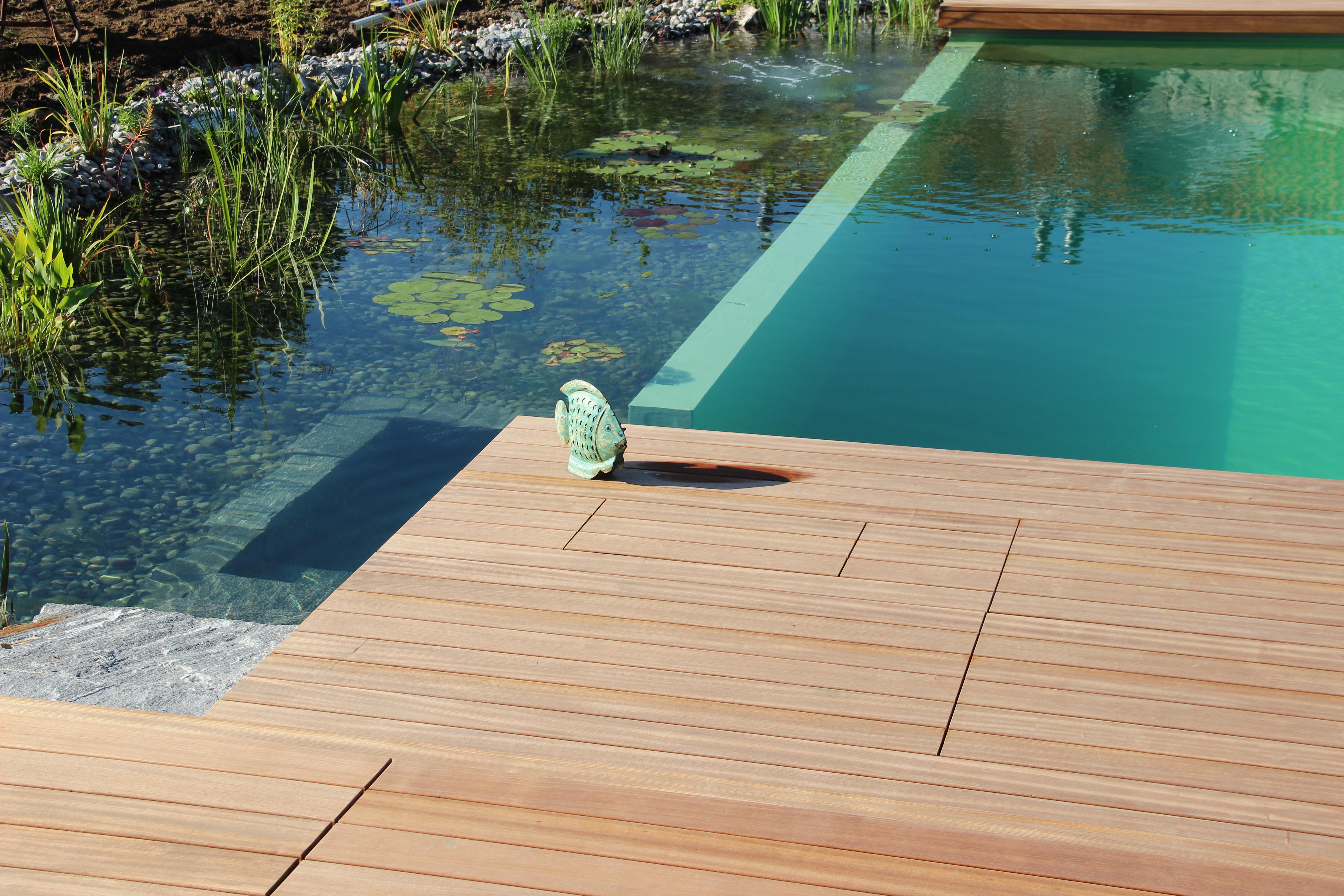 Sipo Terrassendielen Formare Schwimmteich
