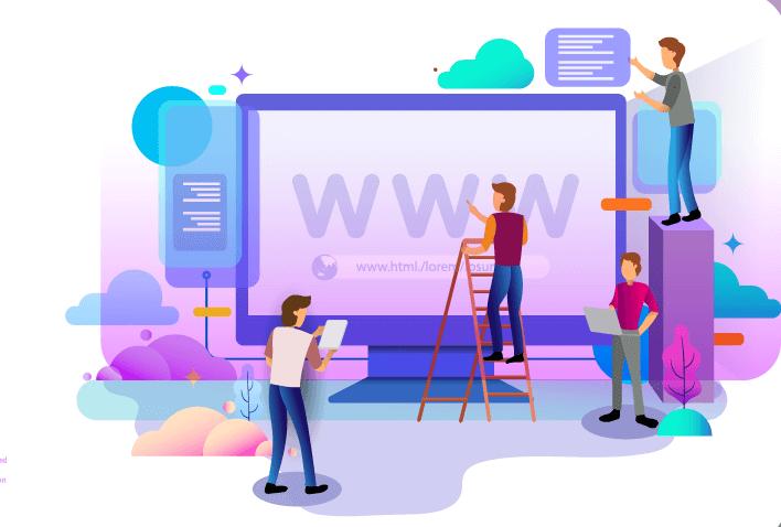 website modern