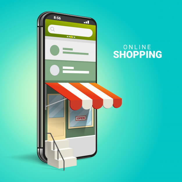 3d online shopping auf websites oder mobilen anwendungen konzepte von marketing und digitalem marketing 131114 12