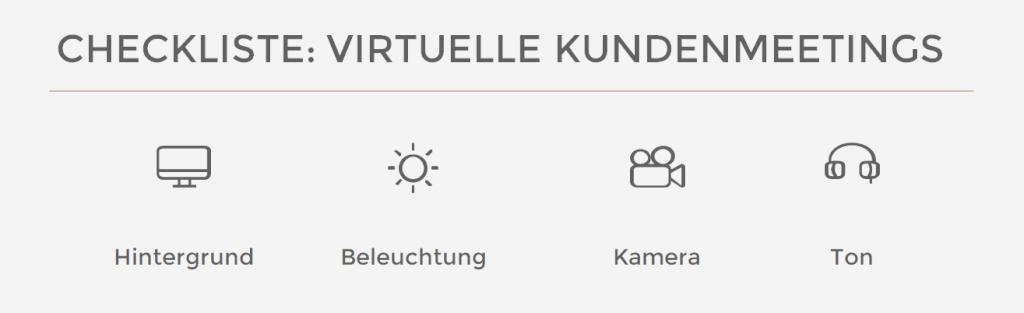 virtuelle Kundenmeetings
