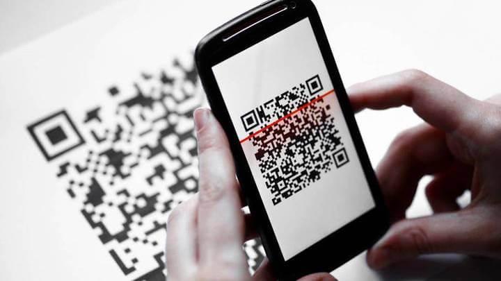 QR Code Smartphone 720x
