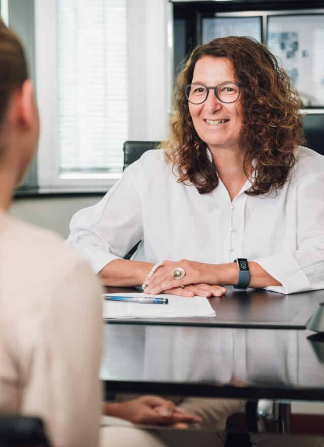 Bewerbungsgespräch Frau Susanne Mainusch
