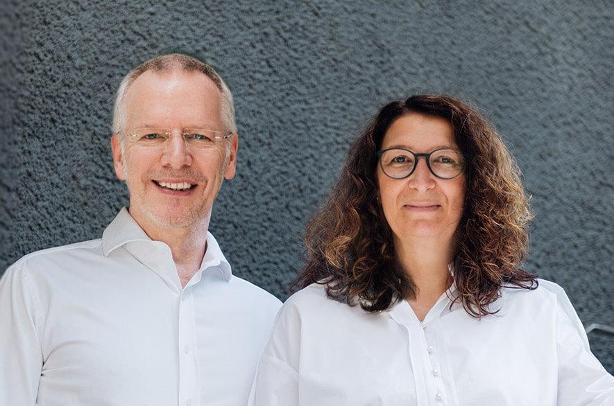 Frau Susanne Mainusch und Dr. Stefan Blönnigen