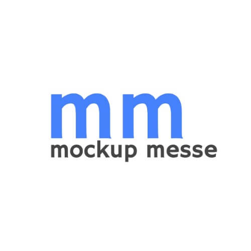 Logo mockup messe