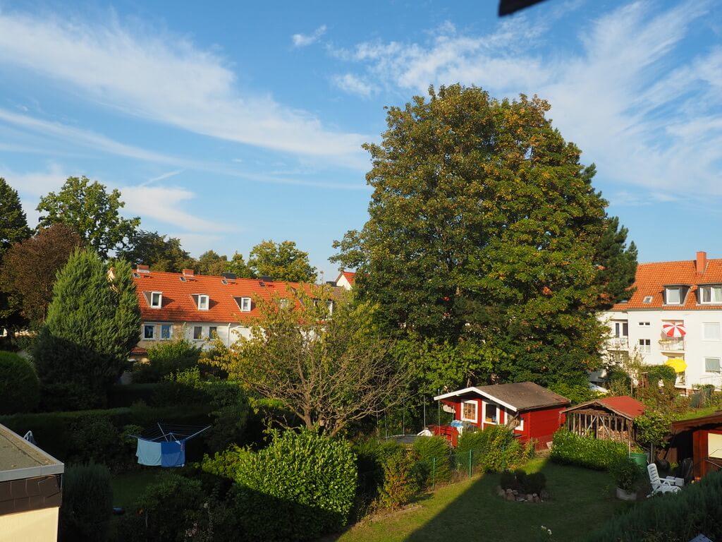 gesundes Wohnen im Mehrfamilienhaus_Hof_LICHTWOHNEN 2021