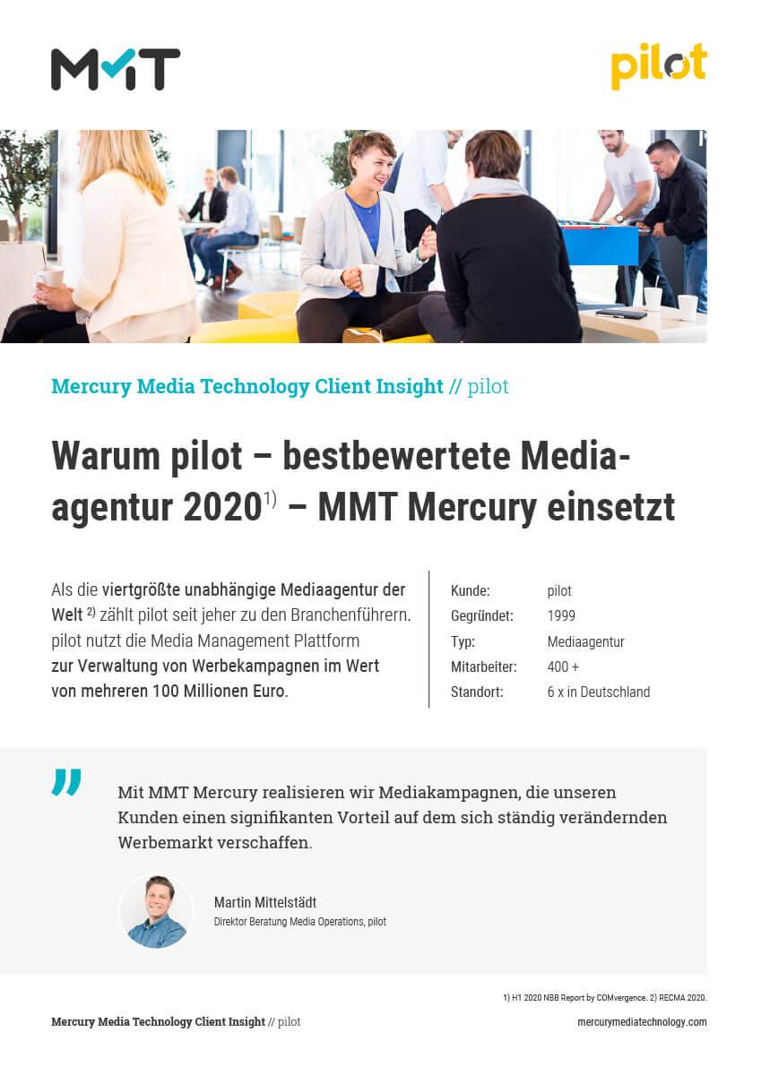 Warum pilot MMT Mercury einsetzt