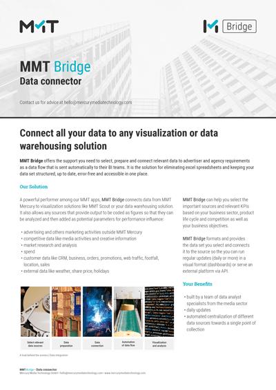MMT Bridge Data connector