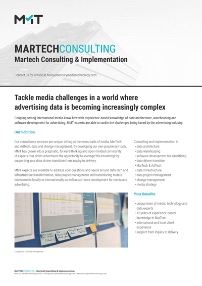 Martech Consulting & Implementatin