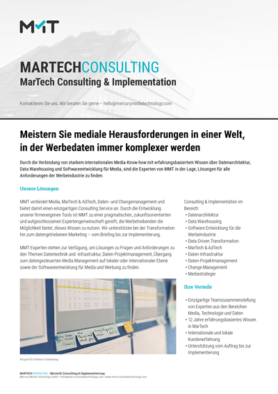 MarTech Consulting & Implementation