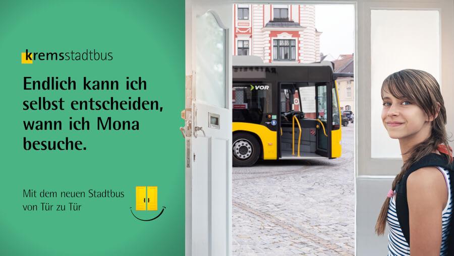 Stadtbus Sujet Zielgruppe Leo
