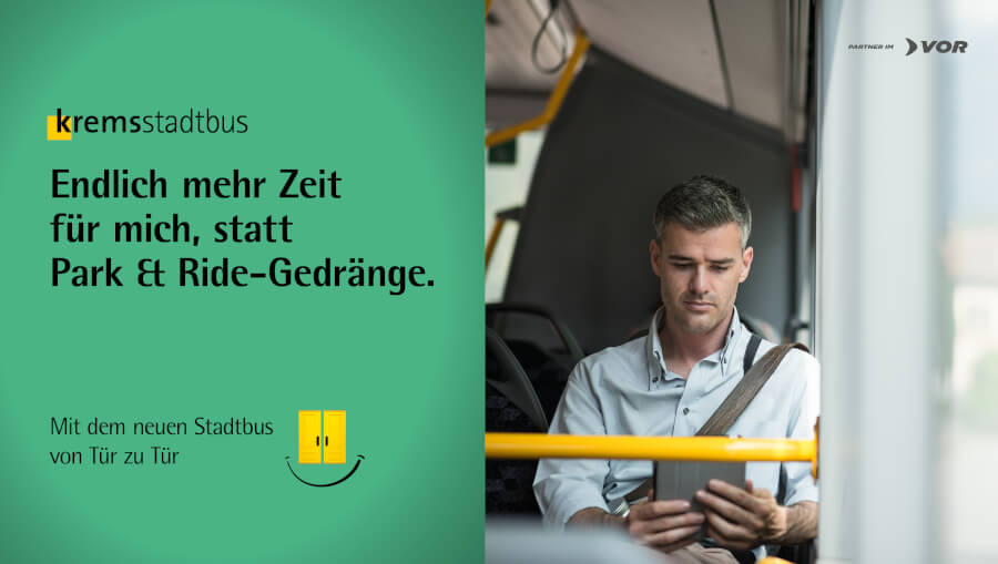 Stadtbus Sujet Zielgruppe Michael