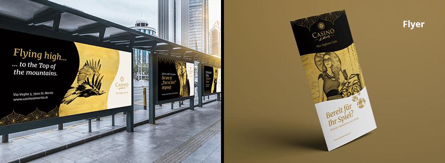 Casino Plakatreihe & Allgemeiner Flyer