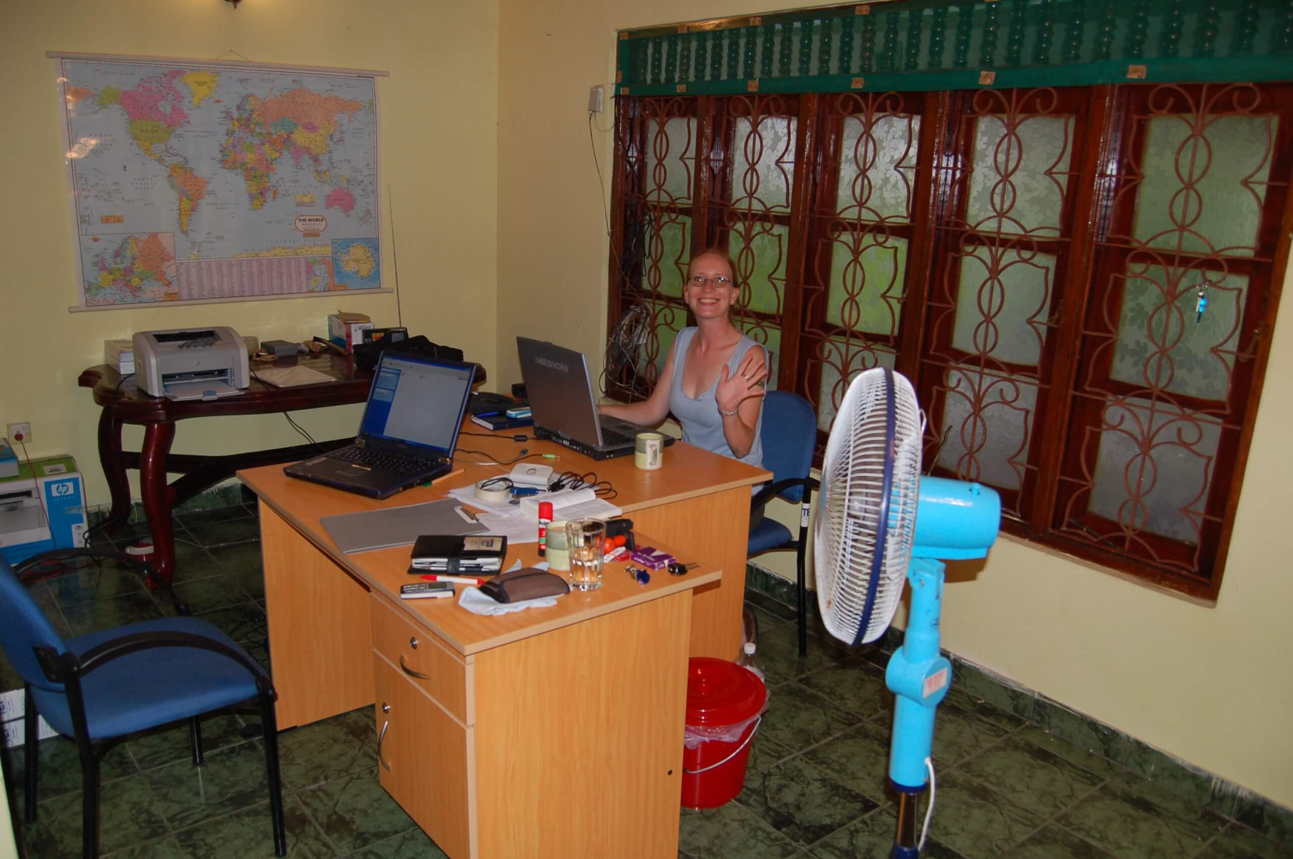 Tsunami Education Project Buero