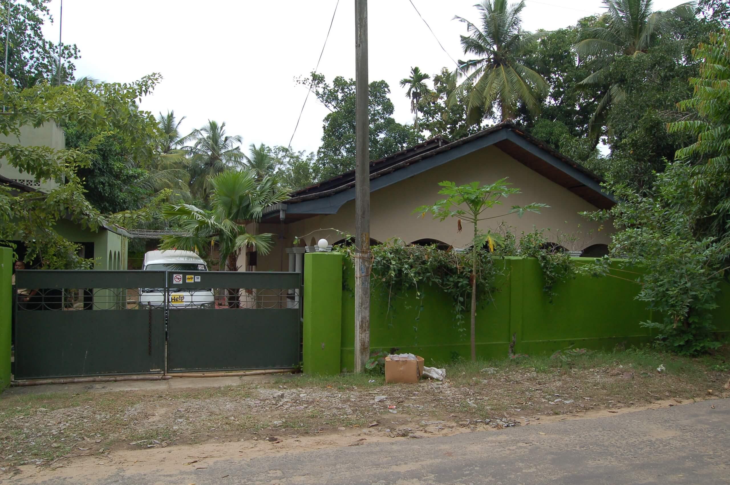 Tsunami Education Project Haus